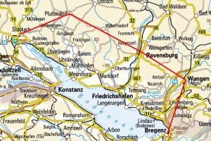 Rennradregion vom Bodenseemann