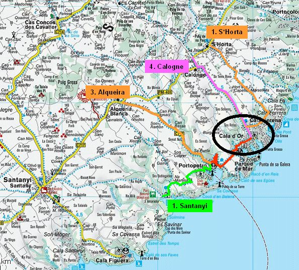 Mallorca Touren Da Bodensee Radler