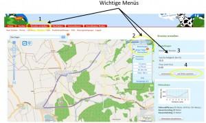 Mit GPSies Strecke erstellen