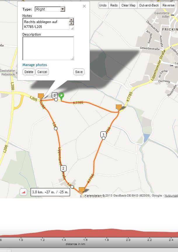 Strecke zum Nachradeln mit ridewithgps erstellen! | Da ...